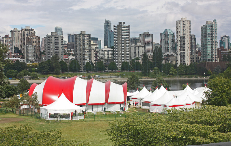 Bard by the Bay - tents