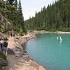 Leaving Garibaldi Lake for a day hike
