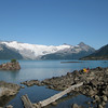 Garibaldi Lake is a very busy campground with 60 tent sites, 4 outhouses, 3 food shelters and a Ranger station.