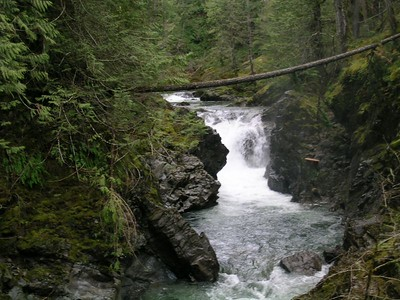 Qualicum Falls on Vancouver Island