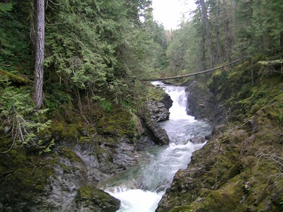 More Qualicum Falls