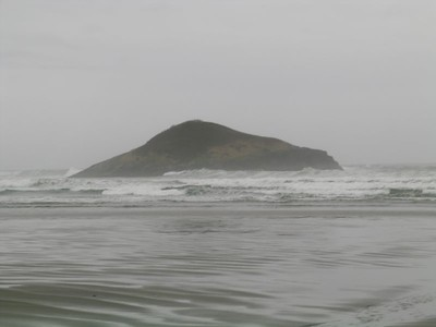 Long beach, in Pacific rim park