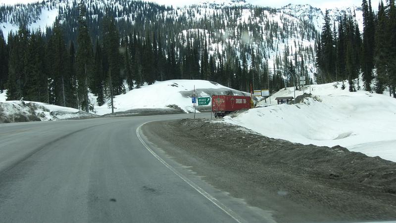 Hwy 3 - Kootenay Pass area