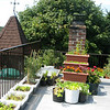Scott and Aisha's adorable rooftop garden
