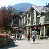 Whistler Village. The mountain isn't so impressive from the ground, but wait till you get on top.