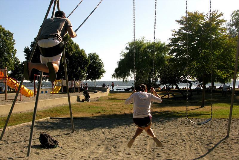 Quick swing break