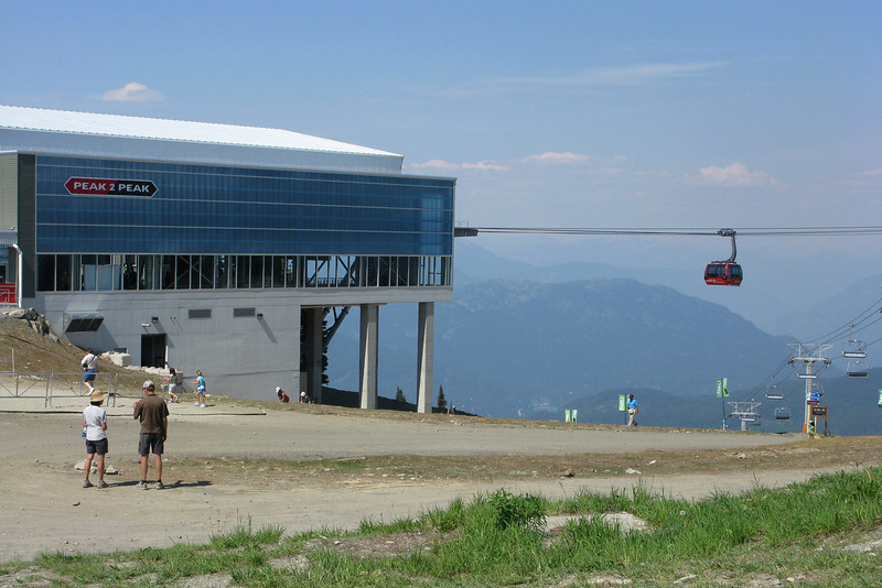 Opened last December, it's the longest unsupported span in the world, and the highest lift of its kind.