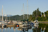 The harbor at Gibsons. The official name is Gibson's Landing but everyone calls it Gibsons.
