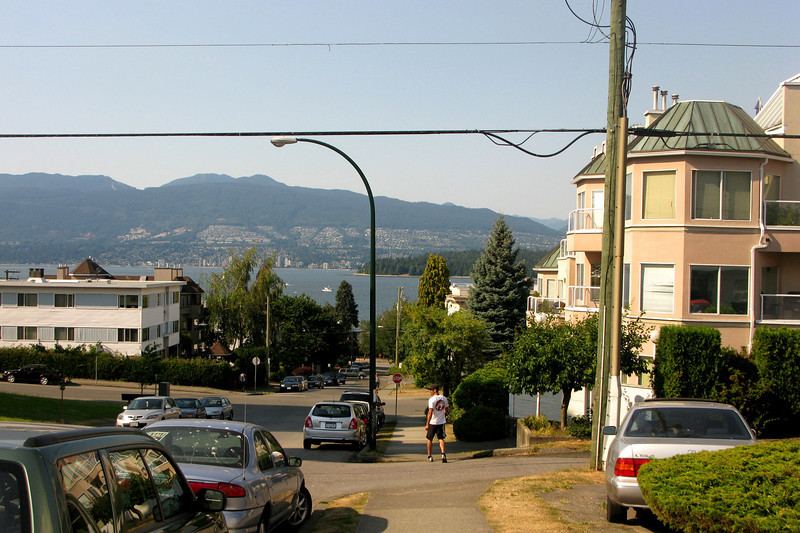 And then: Kitsilano Beach, akin to Venice Beach, we were told.