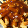 Late-night poutine in Whistler Village--the French-Canadian version of disco fries (but with cheese curds)