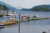 Float planes, Porpoise Bay, Sechelt Inlet. (pronounced SEE-shelt)