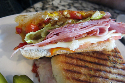 """An unexpected (and really yummy) panini """"breakfast"""" on Commercial Drive"""