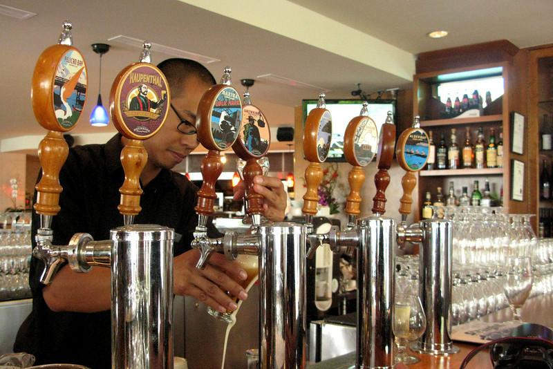 Also on Granville Island: Dockside Brewing Co., inside a hotel