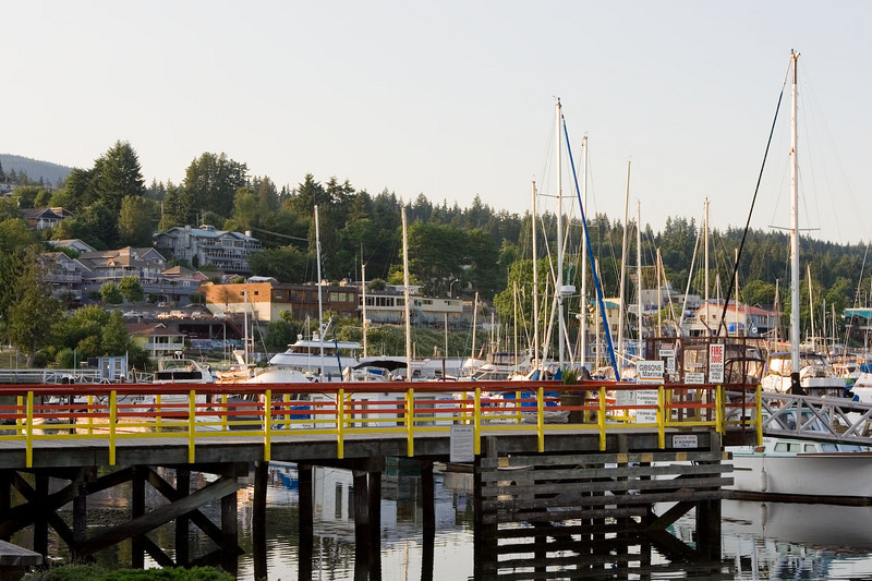 Gibsons harbor