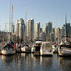 Harbor near Granville Island