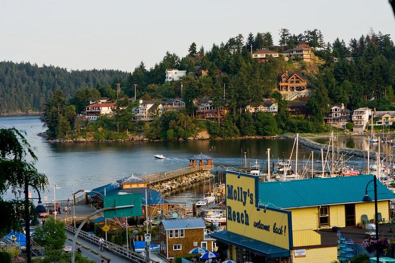 Gibson's Landing Harbor