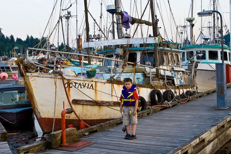 Gibson's Landing Harbor<br /> Sunshine Coast, Canada