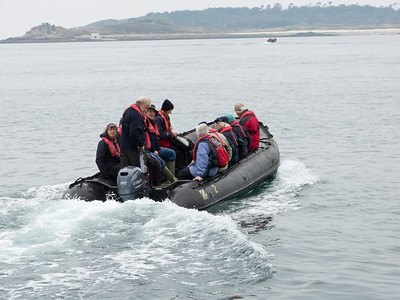 Off to St Agnes Island in the Scilly Islands