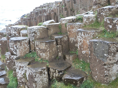 Incredible basalt columns which is the result of ancient volcanic eruptions