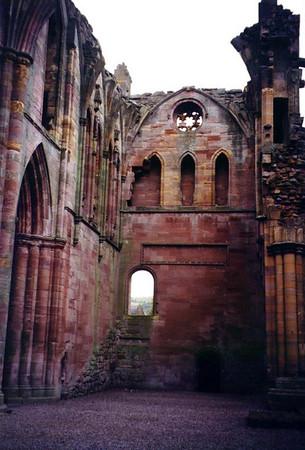 Melrose Abbey - Scotland