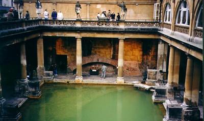Roman ruins - Bath, England