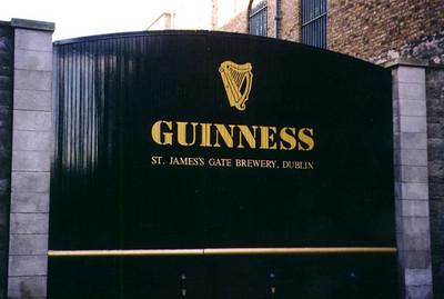 The Guinness Brewery - Dublin, Ireland