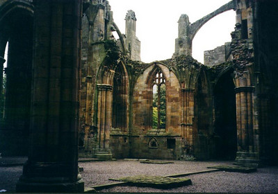 Melrose Abbey - Scotland
