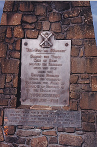 Monument at the Bannockburn battlefield