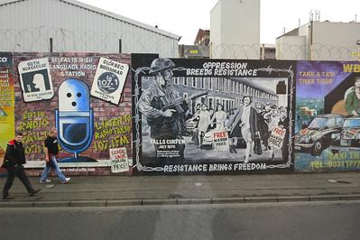 Belfast Wall Mural