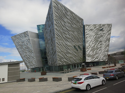 The Titanic Museum.  Inside, glass escalators line the four-story atrium and provide access to the museum's nine interpretive galleries, each loaded with interactive displays that allow visitors to explore every aspect of the Titanic's brief history.