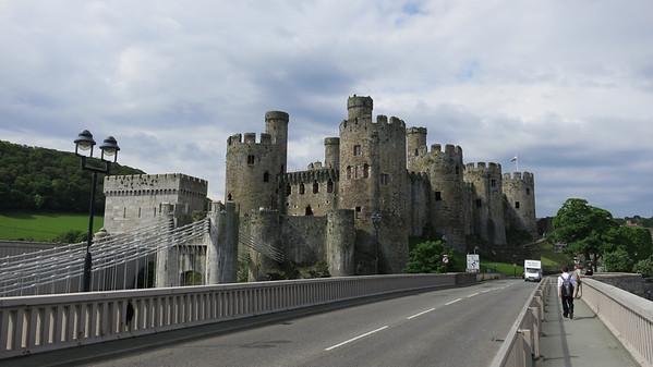 Conwy Castle. North Wales