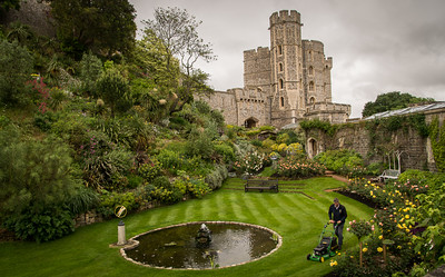 Windsor Castle & the Royal Lawnmower