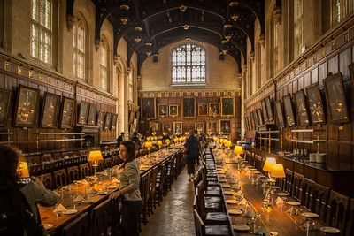 Great Hall at Christ Church College, Oxford