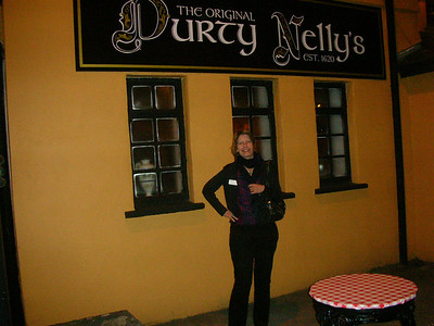 Durty Nelly's pub, Bunratty.