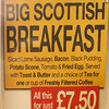 What, no haggis for breakfast?