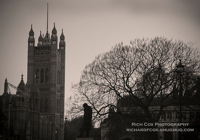 Westminster on a Winter Evening