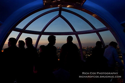 In the London Eye Twilight, December 2006