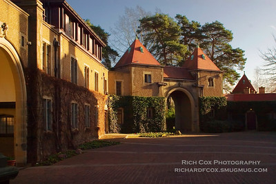 Fanhams Hall Courtyard