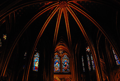 Sainte Chapelle, lower level.