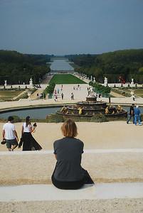 Versailles view.