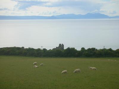 Ayrshire coast.