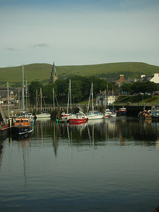 Girvan harbor