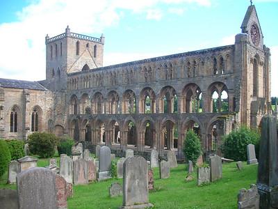 Jedburgh Abbey.