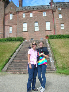 At Brodick castle.