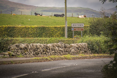 Some of the Wigtown residents.