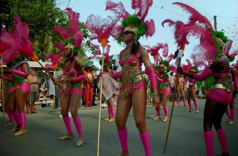 Festival parade dancers - Road Town, Tortola