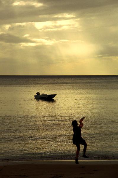 Sunset play - Brewer's Bay, Tortola