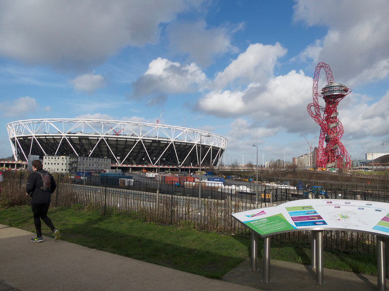 Olympic Park view near the View Tube