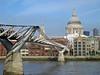Millennium Bridge and St. Pauls
