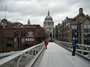 St. Paul's from the center of the bridge